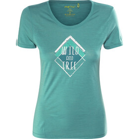 Meru Enköping T-shirt en laine Femme, turkish tile